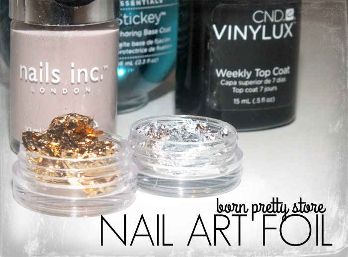 Born Pretty Store Gold and Silver Nail Art Foil (3)