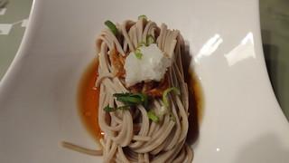 櫻花蝦蕎麥涼面