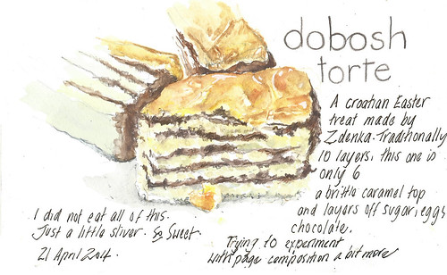 21Apr14 Dobosh torte anyone?