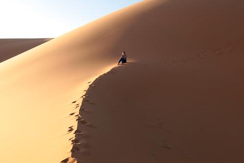 O que fica no deserto