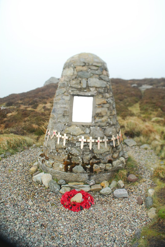 Mull of Kintyre Chinook Memorial