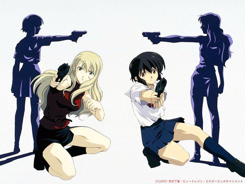 good lesbian anime