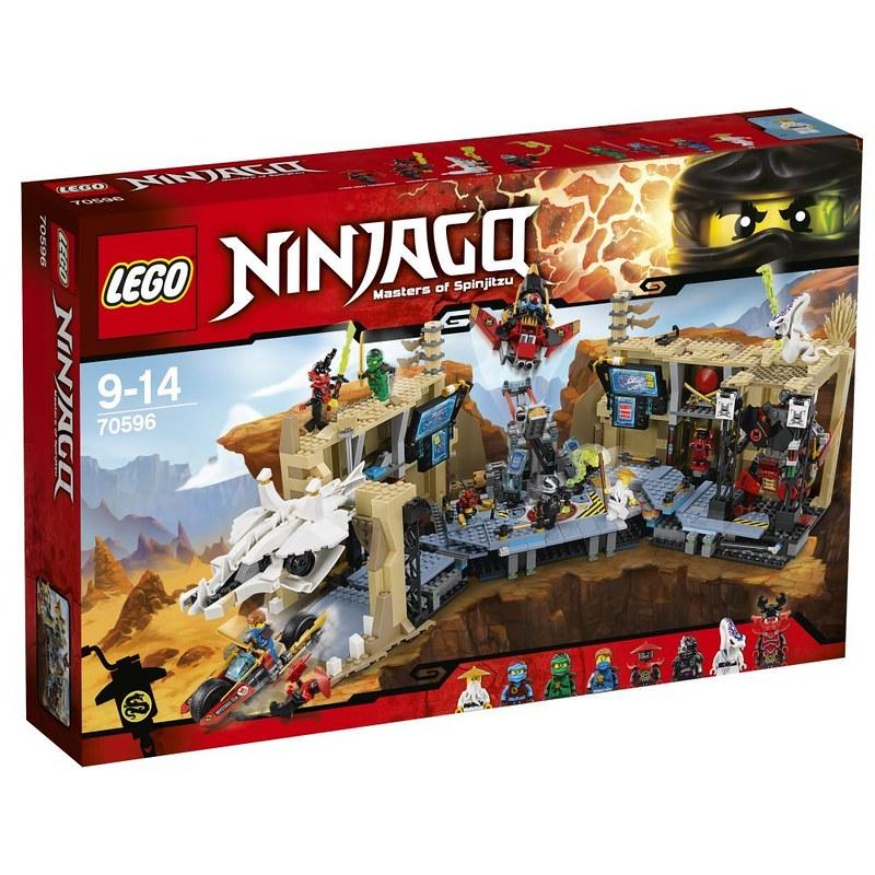 LEGO Ninjago 70596 - Samurai X Cave Chaos