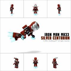 #LEGO #5002946 #IRON_MAN #MK33 #Silver_Centurion #레고 #아이언맨 #마크33 #실버센츄리온 #아키동이