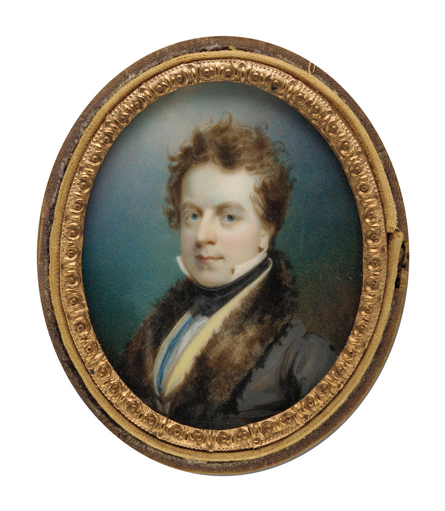 Self-portrait by Thomas Seir Cummings, 1825