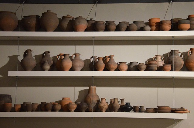 Earthenware made in Tongeren, Gallo-Roman Museum of Tongeren, Belgium