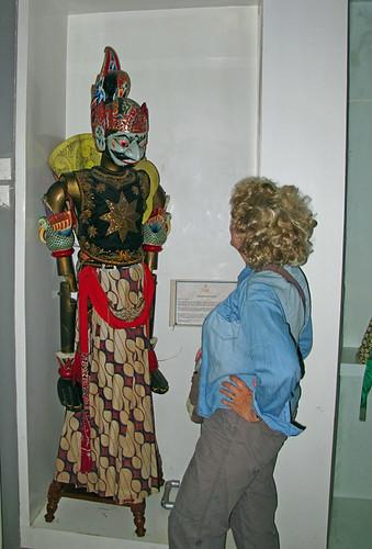 Wood Puppets Wayang Museum Kota
