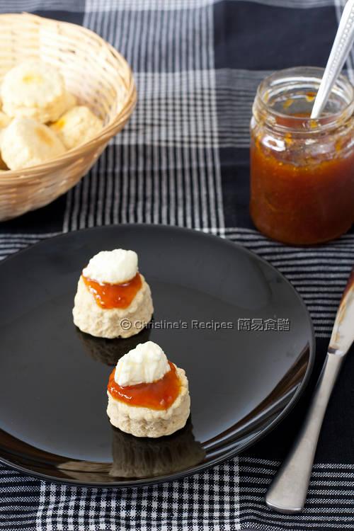 果醬司康餅 Scones01