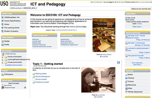 EDC3100 home page (Sem 1, 2012)
