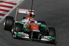 F1 Testing, Barcelona, Spain 21-24 02 2012
