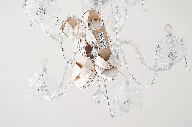 chandelier and choos