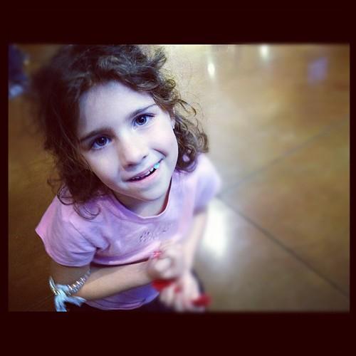 Kenniston sporting the bracelet she got  ($ goes to help stop human trafficking). Anxiously waiting for Kari Jobe!