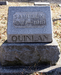 Samuel H. Quinlan, Crown Hill Cemtery