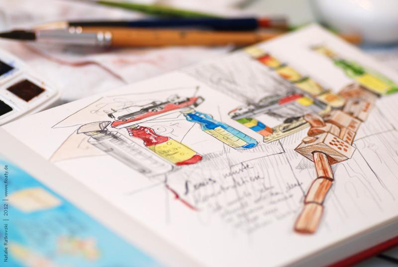 My 356 sketchbook