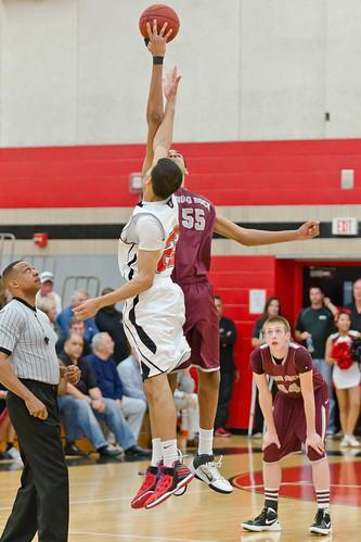 2012_02_21 RRHS boys basketball vs Bowie - Henry Huey c_1843 by 2HPix.com - Henry Huey