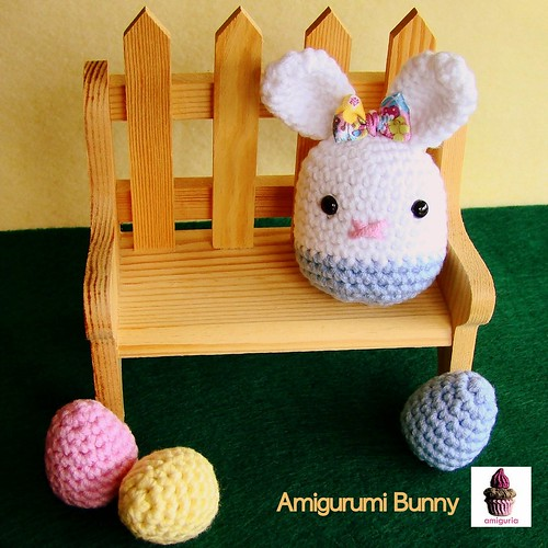 Amigurumi Bunny by Amiguria by Amiguria