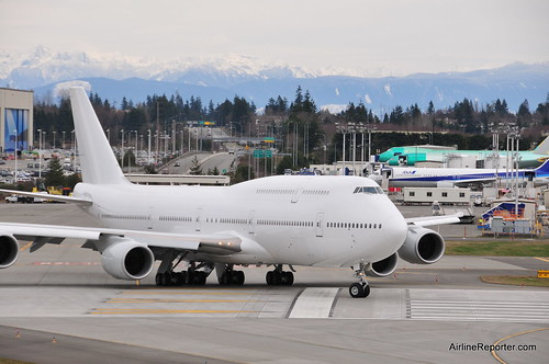 Image: UPDATED: Who Owns This Boeing 747-8 VIP? A Mystery at Paine Field ...