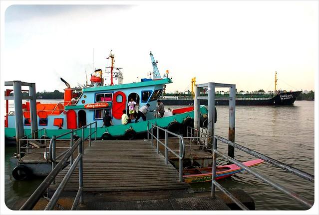 ferry terminal wat bang na