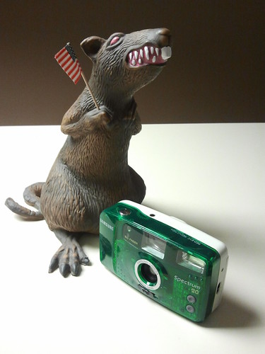 Static Rat and the Samsung Spectrum 20