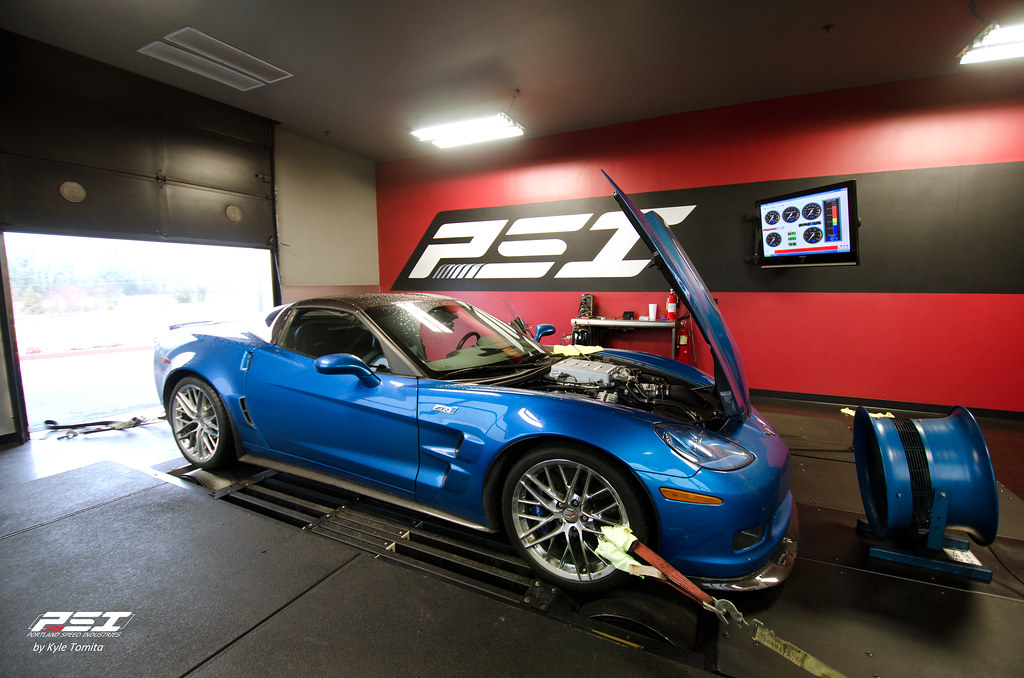ZR1 on the dyno at PSI