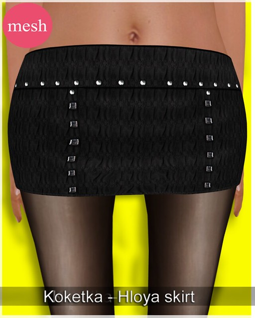 Koketka-Hloya skirt-MESH- for The Whore Couture Fair 2012