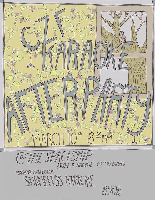 CZF Afterparty Flyer