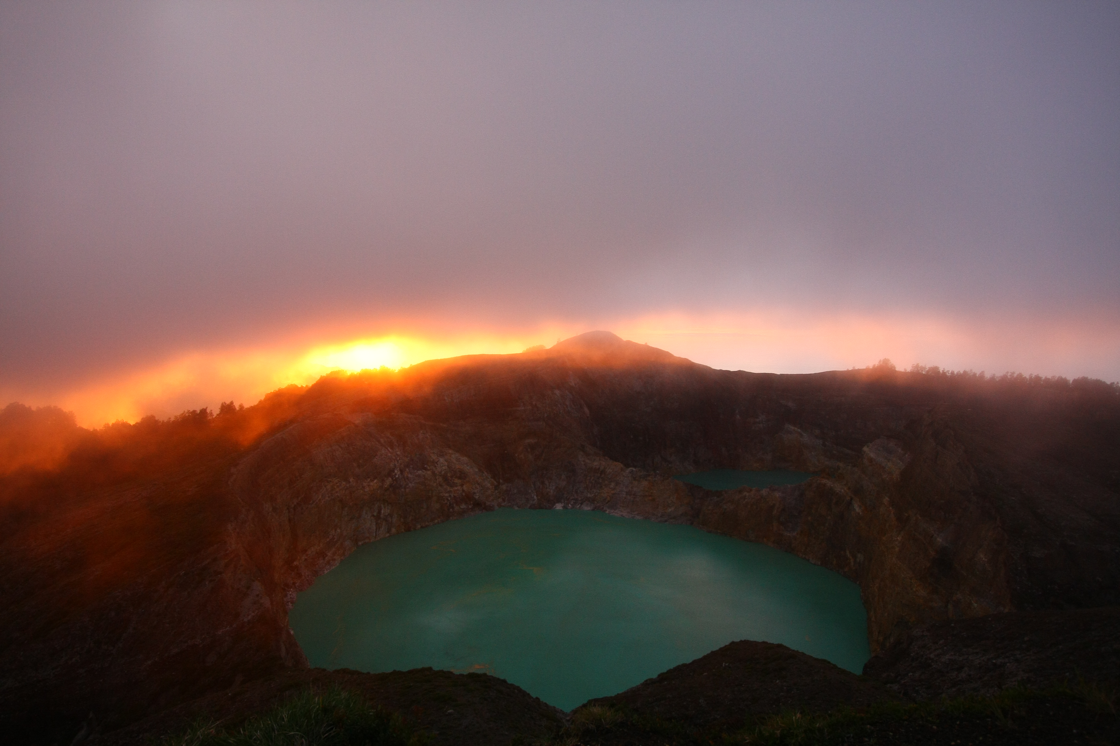 12 Photos Of Kelimutu Of Indonesia Boomsbeat