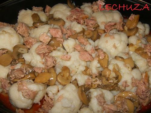 Coliflor con atún y champis- (8)