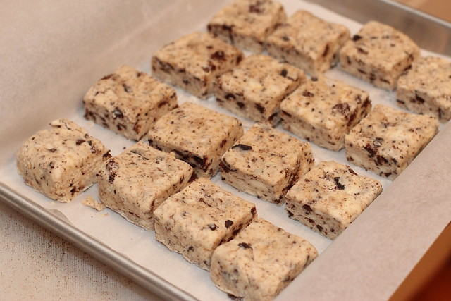Thin Mint Scones