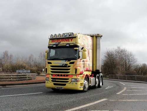 yellow scotland diesel wrap lorry camion legends tribute scania liverpoolfc mcburneytransport dsch55 mc10kop worldtruck