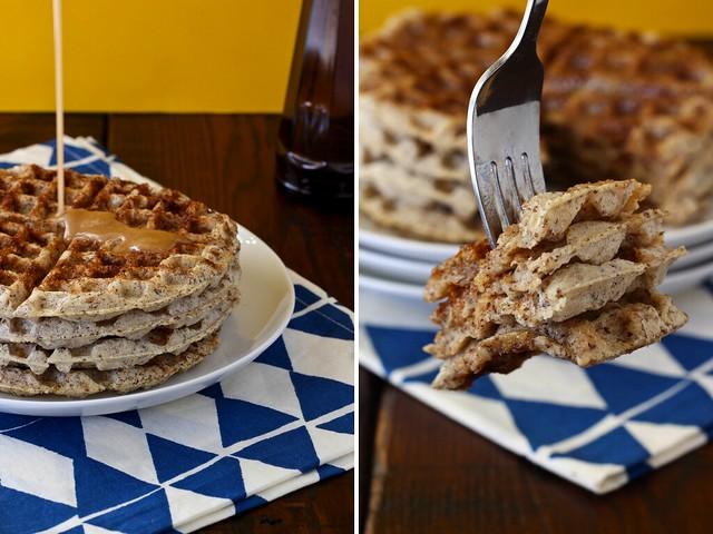 Cinnamon roll waffles (GF)