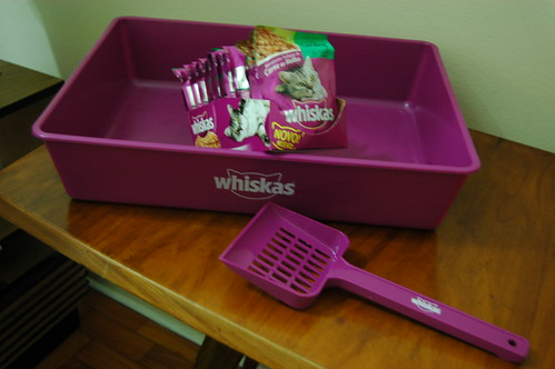 whiskas litter box & scoop
