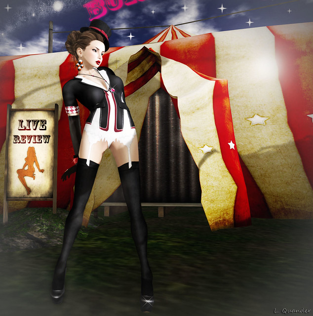 The Secret Store - Circus Outfit - Charcoal for EPOCH
