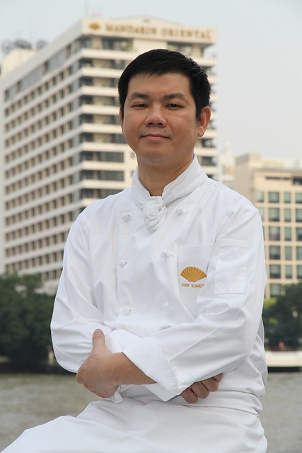 Mandarin Oriental, Bangkok's Thai master chef and TV culinary show host  Sumet Sumpachanyanont