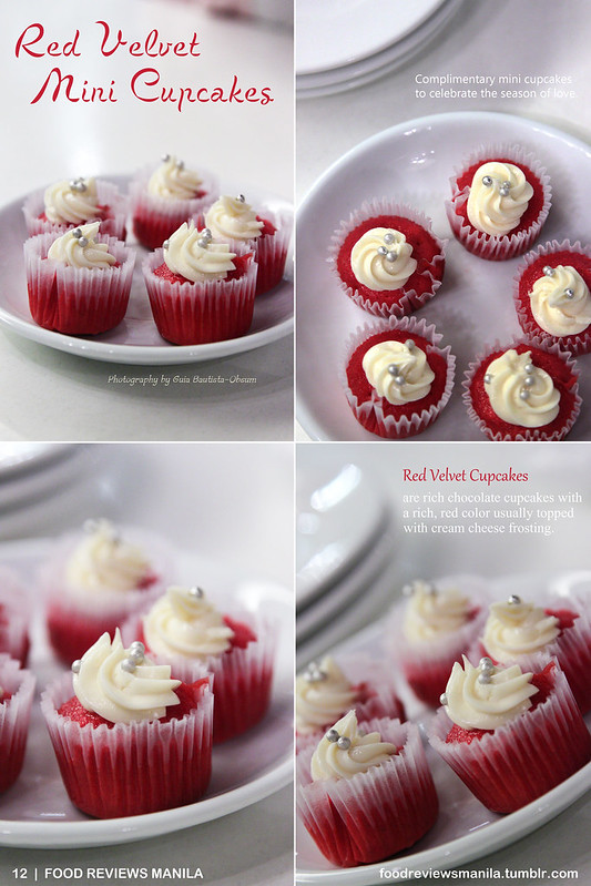 Red Velvet Mini Cupcakes from Kulinarya