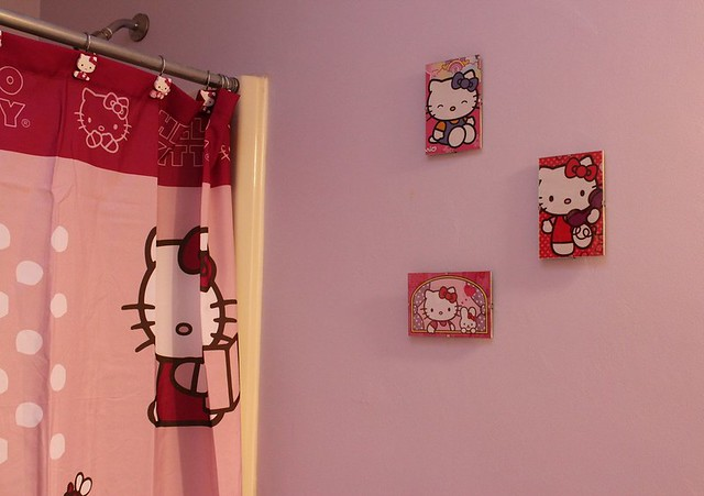 Hello Kitty Coloring Book Wall Art