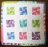 QnT: Mini-Quilt #4 Pinwheels