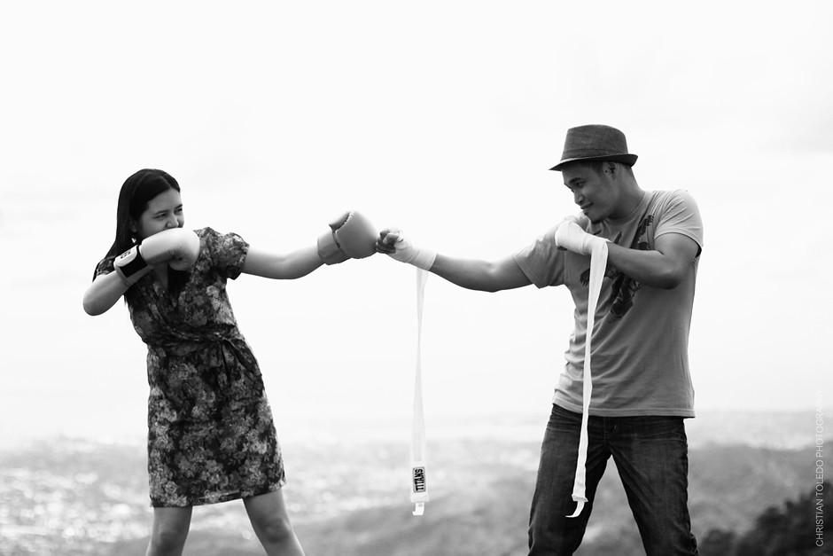 Cebu Tops Engagement, Cebu Engagement Photographer