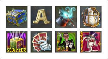 free Simsalabim slot game symbols
