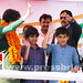 Kids join mother Priyanka Gandhi Vadra in Amethi (2)