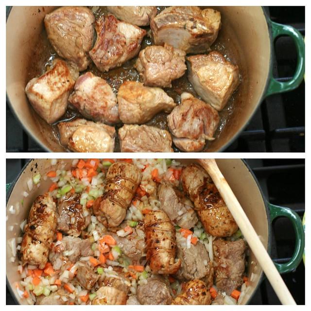 ragu' della domenica (slow cooked sunday ragu')