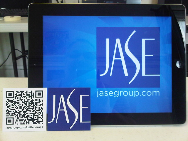JASE Group iPad & Business Card