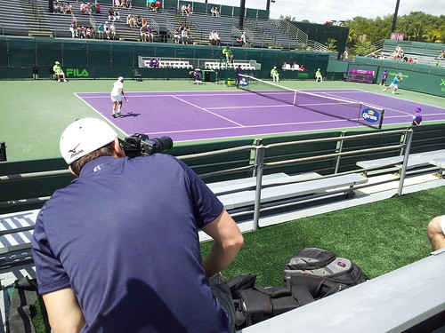 6851749906 6e4e2abaf0 Speak Social Sends Video Team to Miami for Athletic DNA at the Sony Ericsson Open