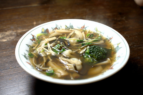 Vegetable Oyster Soup