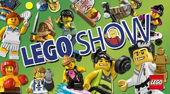 The LEGO Show world record attempt mosaic