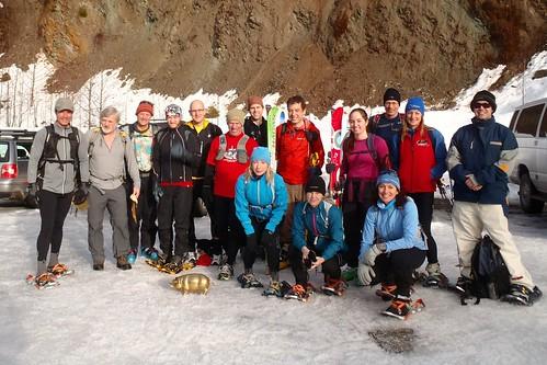 Club Fat Ass Events - Squamish Scrambler Snowshoe Run - 2012