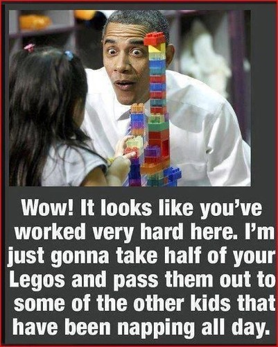 Obama & legos