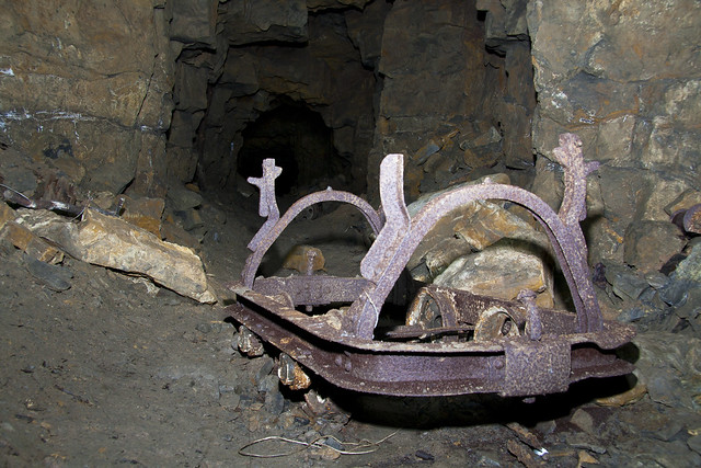 Mine Cart - Cults Limestone Mine