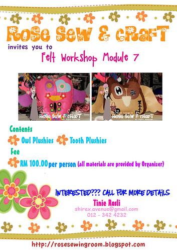module 7  by Rose Craft Workshop
