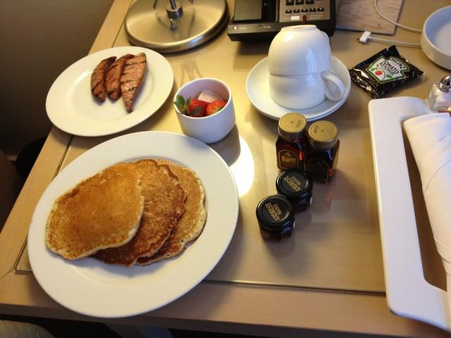 Day 1 - Room Service Breakfast